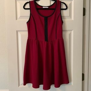Lush Maroon Dress